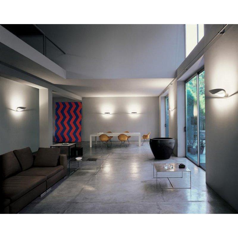 Artemide mesmeri led wandleuchte weiss for Design shop 24
