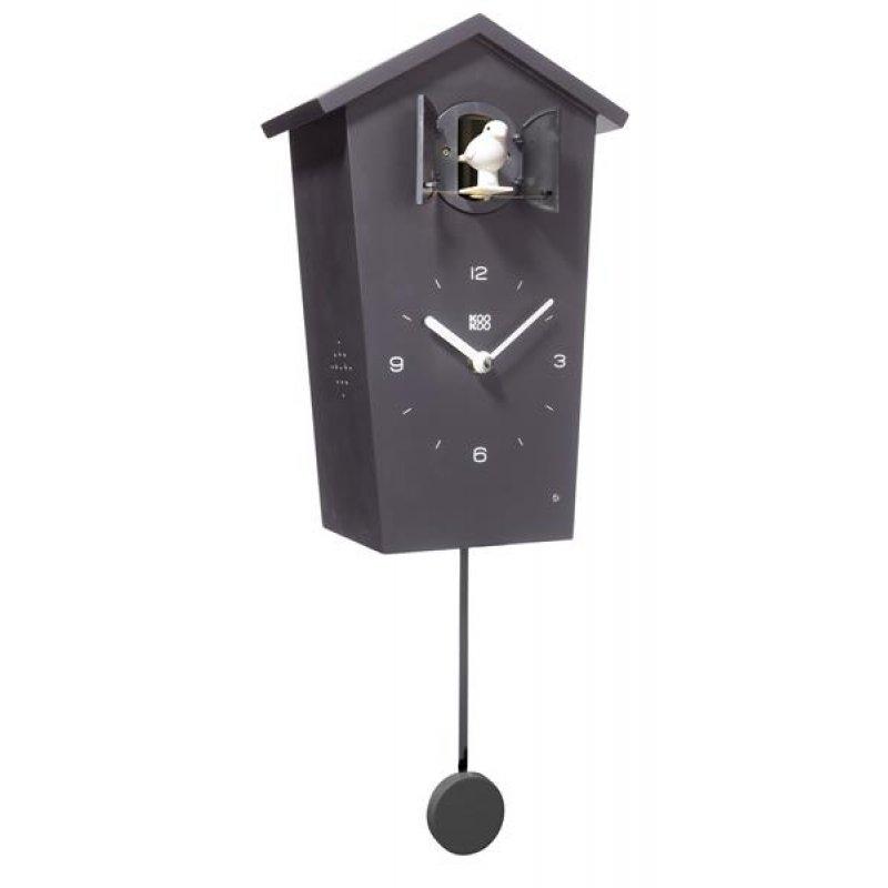 kookoo birdhouse kuckucksuhr schwarz. Black Bedroom Furniture Sets. Home Design Ideas