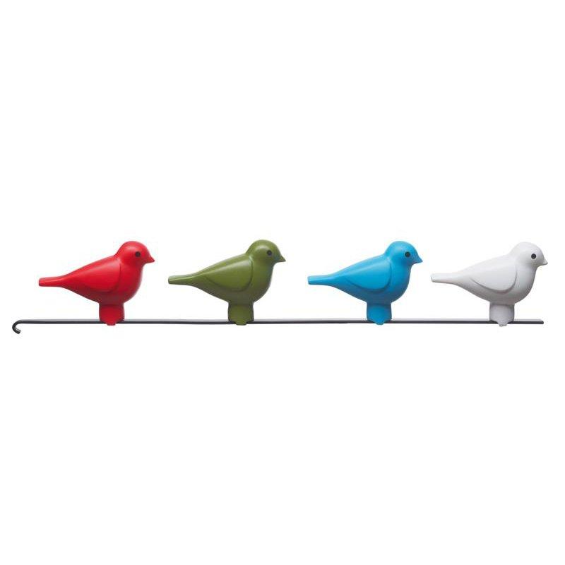 kookoo birdhouse kuckucksuhr weiss. Black Bedroom Furniture Sets. Home Design Ideas