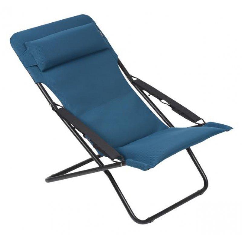 Transabed XL plus Air Comfort Liegestuhl coral blue