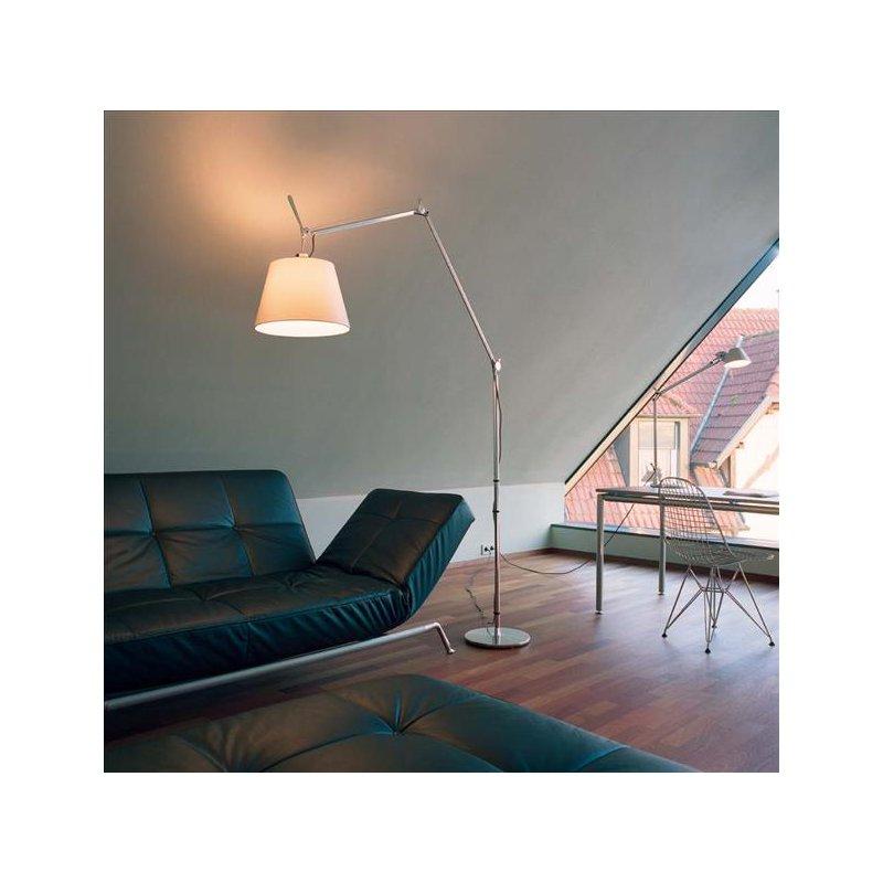 artemide tolomeo mega terra stehleuchte mit dimmer 625 00. Black Bedroom Furniture Sets. Home Design Ideas
