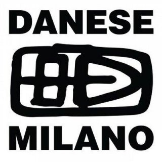 DANESE MILANO Decompose Tischleuchte orange